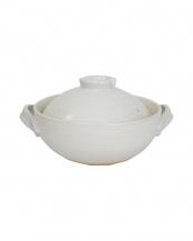 8号土鍋(白釉)○52428