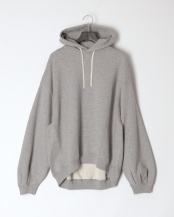 SW01/GREY●PUFF SLV SWEAT PARKA○L201HJPO0203B