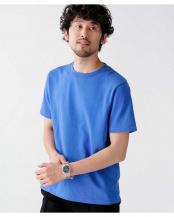 ブルー 《WEB限定》TURKEY ORGANIC CottonTEE/半袖 ナノ・ユニバースメンズ(EC専売)○6740124013