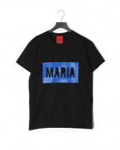 ブラック●BLACK BOX BLUE<br>プリント 半袖Tシャツ○T-SHIRT BLACK BOX BLUE