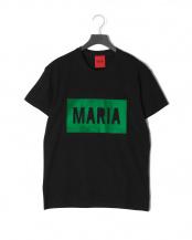 ブラック●BLACK BOX GREEN<br>プリント 半袖Tシャツ○T-SHIRT BLACK BOX GREEN