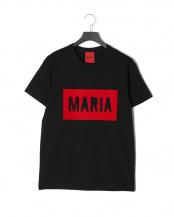 ブラック●BLACK RED BOX<br>プリント 半袖Tシャツ○T-SHIRT BLACK RED BOX