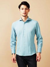 グリーン(35)●シャツ(ロジェ) MICHEL KLEIN HOMME○MNBDJ16180