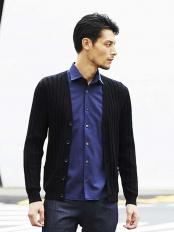 ライトブルー(54)●シャツ(ロジェ) MICHEL KLEIN HOMME○MNBJJ16180
