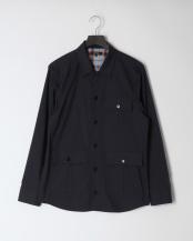 ネイビー●長袖シャツジャケット○61M48306