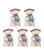 モコソイソープ5個セット・コットンサッシェ(無香料x2・ガーデニア・イランイラン・テイツリーx各1)○0281
