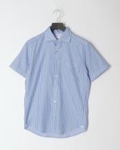 青色柄物●セミワイドS/S○0-0086-2-51-008