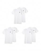 ホワイト●Tシャツ2P×3点SET○APB0132/APB0132/APB0132