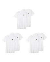 ホワイト●VネックTシャツ2P×3点SET○APB0152/APB0152/APB0152