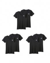 ブラック●VネックTシャツ×2枚組 3SET○APB0152/APB0152/APB0152