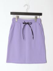 Violet●Everyday Cotton Terry SkirtFQ○TB0B5411K131