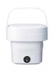 ホワイト●折り畳める洗濯機 WH○WMW-021 WH