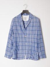 ブルー●シャツジャケット○56124