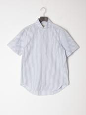 ネイビー●カジュアルシャツ(半袖)○56137