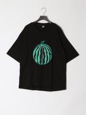 ブラック●SUIKATAROUアップリケTシャツ○312019