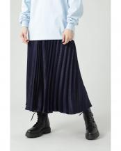 ブルー●光沢プリーツスカート R/B(オリジナル)○6001134002