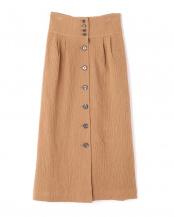 ベージュ●フロントボタンスカート R/B(オリジナル)○6009134026
