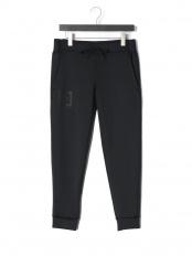 ブラック/ブラック●UA Knit Pant ストレッチ ジョガーパンツ○1358820