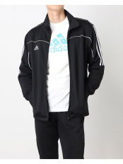 BLACK/WHITE●[adidas combat sports/アディダスコンバットスポーツ]ジャージ/長袖/ジャケット/トップス○1611