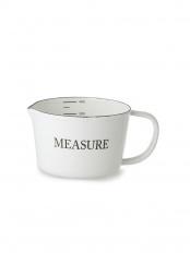 ホーローメジャーカップ「MEASURE」○LW-102