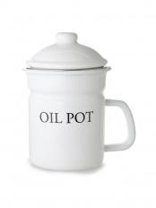 ホーローオイルポット「OIL POT」○LW-111