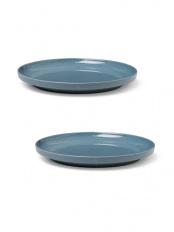 ブルー●GRAND CRU SENSE プレート Φ22 cm 2個セット○20729/20729