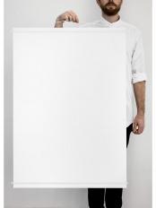 ホワイト●ポスターハンガー 70×100cm○PHWH70
