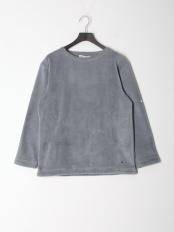 ミディアムグレー●シャギーバスクシャツ○0-0695-6-53-001