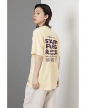 イエロー●<RUSSELL ATHLETIC×CREOLME>スタッフパスTシャツ R/B(オリジナル)○6001213005