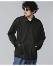 ブラック●チャイナワークジャケット ナノ・ユニバースメンズ(オリジナル)○6681112021