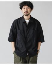 ブラック●DotAir × Primeflex ライトウェイトシャツ ナノ・ユニバースメンズ(オリジナル)○6681120008
