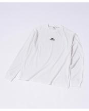 ホワイト●FRUIT OF THE LOOM/別注ロングスリーブフォトTシャツ ナノ・ユニバースメンズ(バイイング)○6700223029