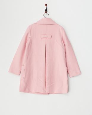 サーモン ピンク Woolコートを見る