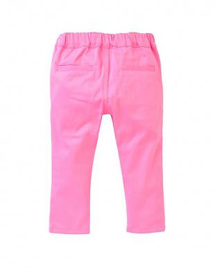 ピンク BABY SLIM PANTSを見る