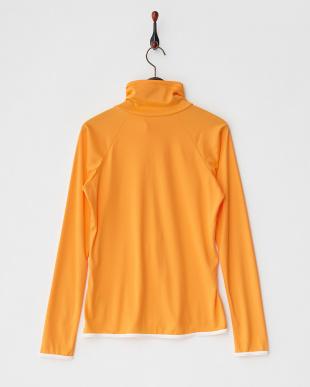 オレンジ UPF50+UVハイネックZIPラッシュガードを見る