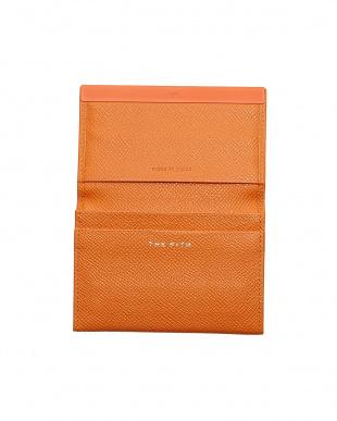 オレンジ ORANGE CARD CASE with METAL BARを見る