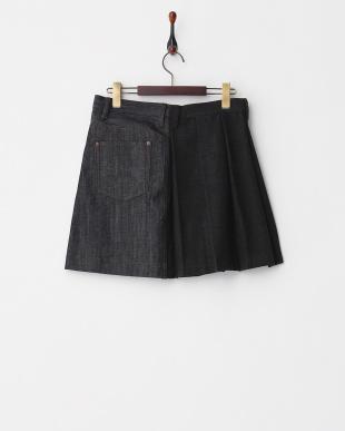 コン×チャコール ラセン 切り替えスカート WOMENを見る