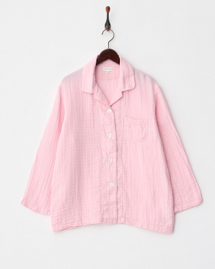 ピンク クレープガーゼ レディースパジャマ│WOMENを見る