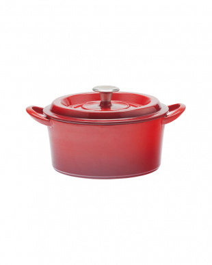 レッド キャストポット(鉄鋳物ホーロー鍋) 20cmを見る