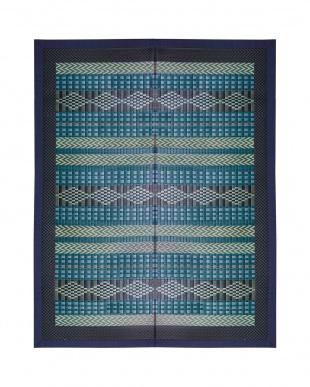 ブルー サガン 国産い草ラグ 191×191cmを見る