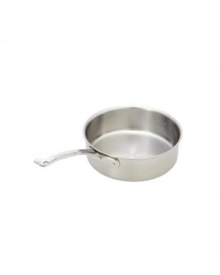オール熱源対応 ニューキングデンジ 浅型片手鍋(21cm)を見る