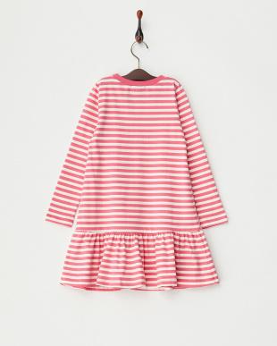 ピンク G.L/S stripe dressを見る