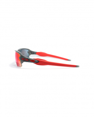 Matte Grey Smoke/+Red Iridium FLAK 2.0 サングラスを見る