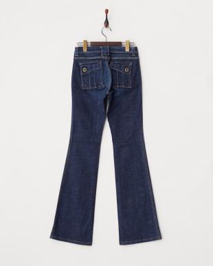 インディゴ バックフラップポケットジーンズ WOMENを見る