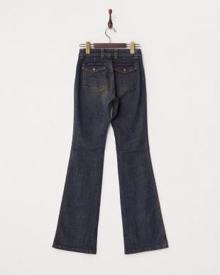 インディゴ ミニポケット付きジーンズ WOMENを見る