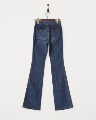 ブルー ミニポケット付きジーンズ WOMENを見る