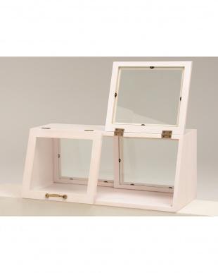 カウンター上ガラスケース 60×25×25cmを見る