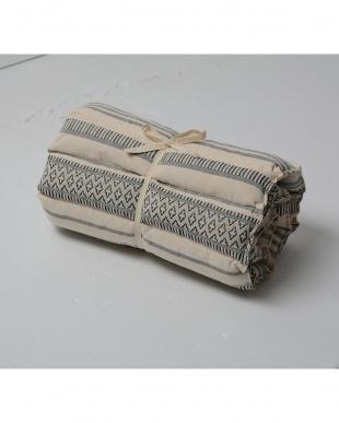ブラック テラ インド綿ロングクッション 43×120cmを見る
