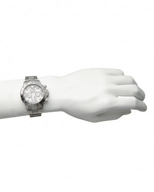 シルバー/ブラック/ブラック 機械式腕時計 003|MENを見る