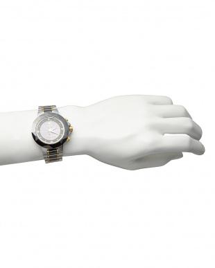 ブラック ダイヤ付き ソーラー電波腕時計 024 MENを見る